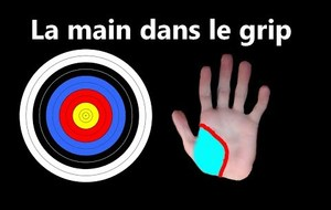 Placement de la main dans le grip
